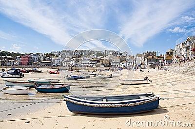 Port St. Ives, Cornwall, UK