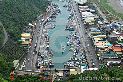 The Port of Suao, Yilan County, Taiwan