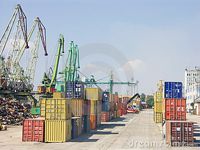 Port of transhipment