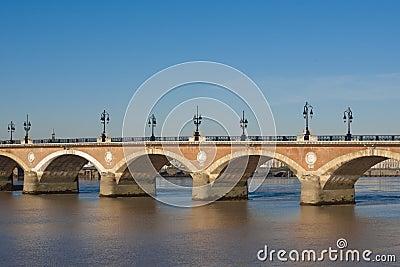 Pont du Pierre, Bordeaux
