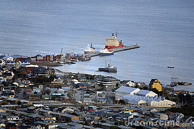 The port of Ushuaia - Argentina