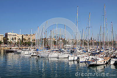 Port Vell, Barcelona, Spain