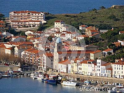 Port-Vendres en la costa bermellona