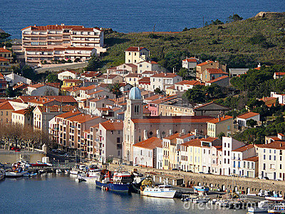 Port-Vendres nel litorale Vermilion