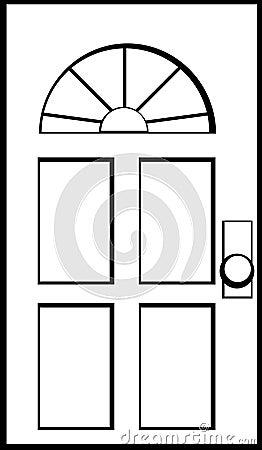 A porta chiusa fotografia stock immagine 5078870 for Porta chiusa