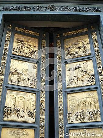Porta del Paradiso,Firenze ( Italia )