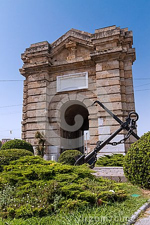 Free Porta Pia In Ancona Royalty Free Stock Photography - 26224567