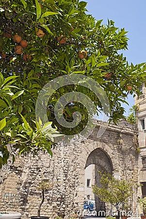 Porta Sant Agata, Palermo, Sicily