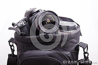 Portable camera bag