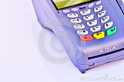 Portable Credit Card Terminal