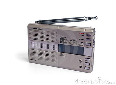 Portable digital radio