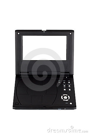 Free Portable DVD Player Royalty Free Stock Photography - 11949627