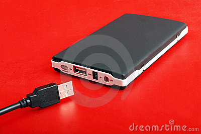 Portable external hard disk