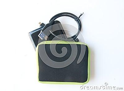 Portable external hard disk