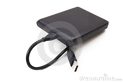 Portable external HDD