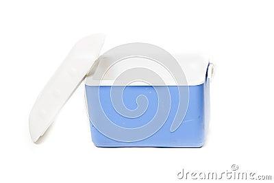 Portable fridge blue