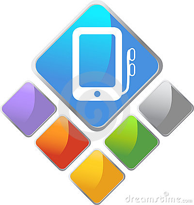 Portable Media Device Square Icon