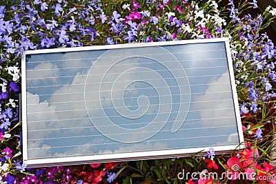 Portable Photovoltaic Solar Panel