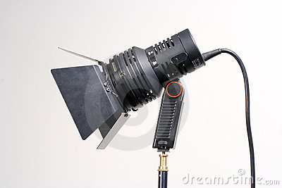 Portable Video Light Stock Photography - Image: 405132