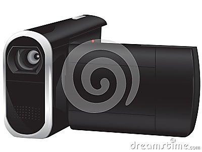 Portable videocamera