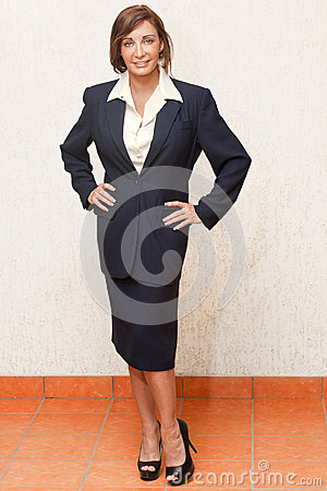 Portairts: Businesswoman or teacher