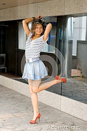 Free Portait Of A Pretty Girl Stock Photo - 20701300