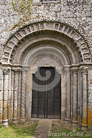 Portal of an ancient chapel