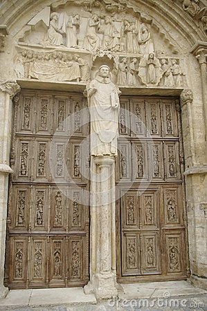 Portal of the Church Saint Thibault