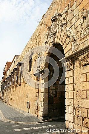 Free Portal De Sant Antoni In The Walls Of Tarragona Royalty Free Stock Photos - 24939668