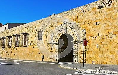 Portal de Sant Antoni in  Tarragona, Spain