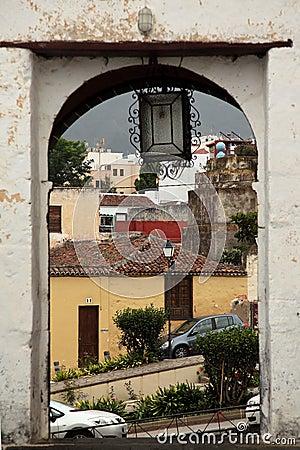 Portal at Tenerife
