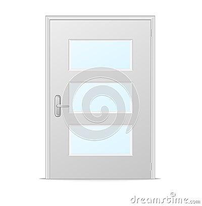 Porte bianche con vetro – Accessori bagno bronz