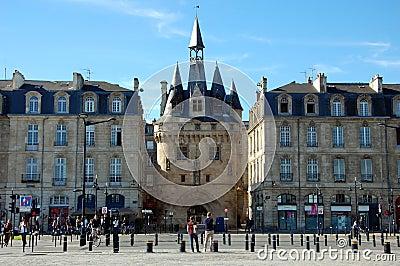 Porte Cailhau in Bordeaux Editorial Image