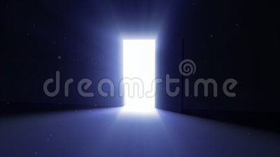 Porte d'ouverture 02 (prévision plus foncée que l'original) illustration de vecteur