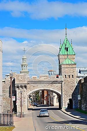 Porte Dauphine in Quebec City