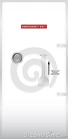 porte de secours photo stock image 23596720. Black Bedroom Furniture Sets. Home Design Ideas