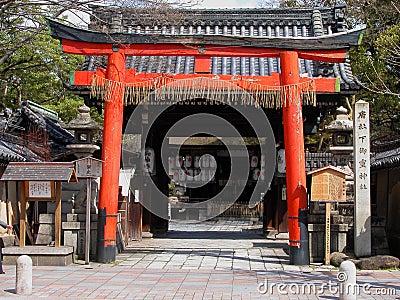 Porte de temple