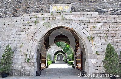 Porte de Zhonghua, Nanjing