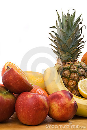 Porte des fruits sain