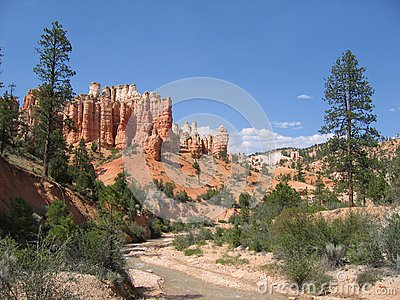 porte malheur de bryce canyon photo stock image 52424662. Black Bedroom Furniture Sets. Home Design Ideas
