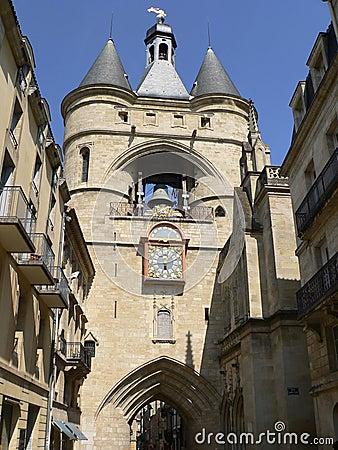 Porte Saint-Eloi, Bordeaux ( France )