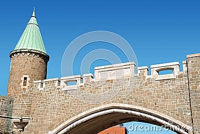 Porte Saint Jean City Gate, Quebec City