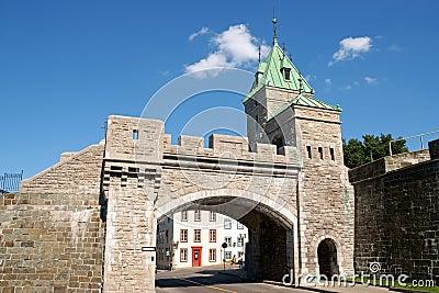 Porte Saint Louis City Gate, Quebec City