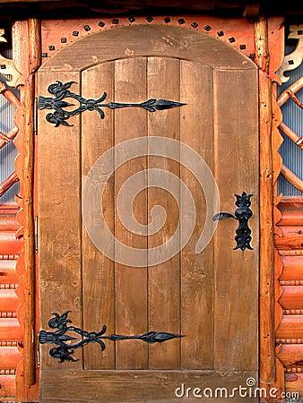 Portello di legno