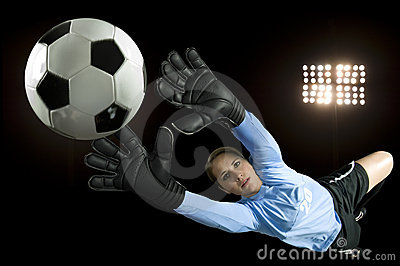 Portero del fútbol