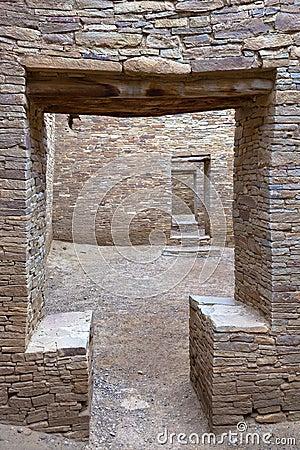 Portes de canyon de Chaco