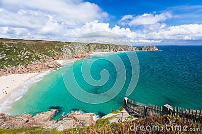 Porthcurno Cornwall England