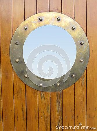Free Porthole Brass Royalty Free Stock Photos - 14445738