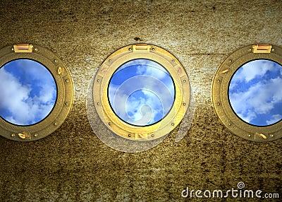 Porthole bullauge