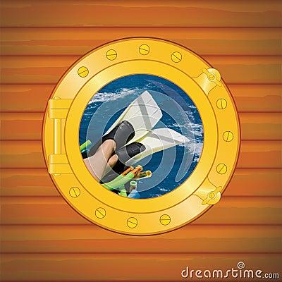Porthole scuba